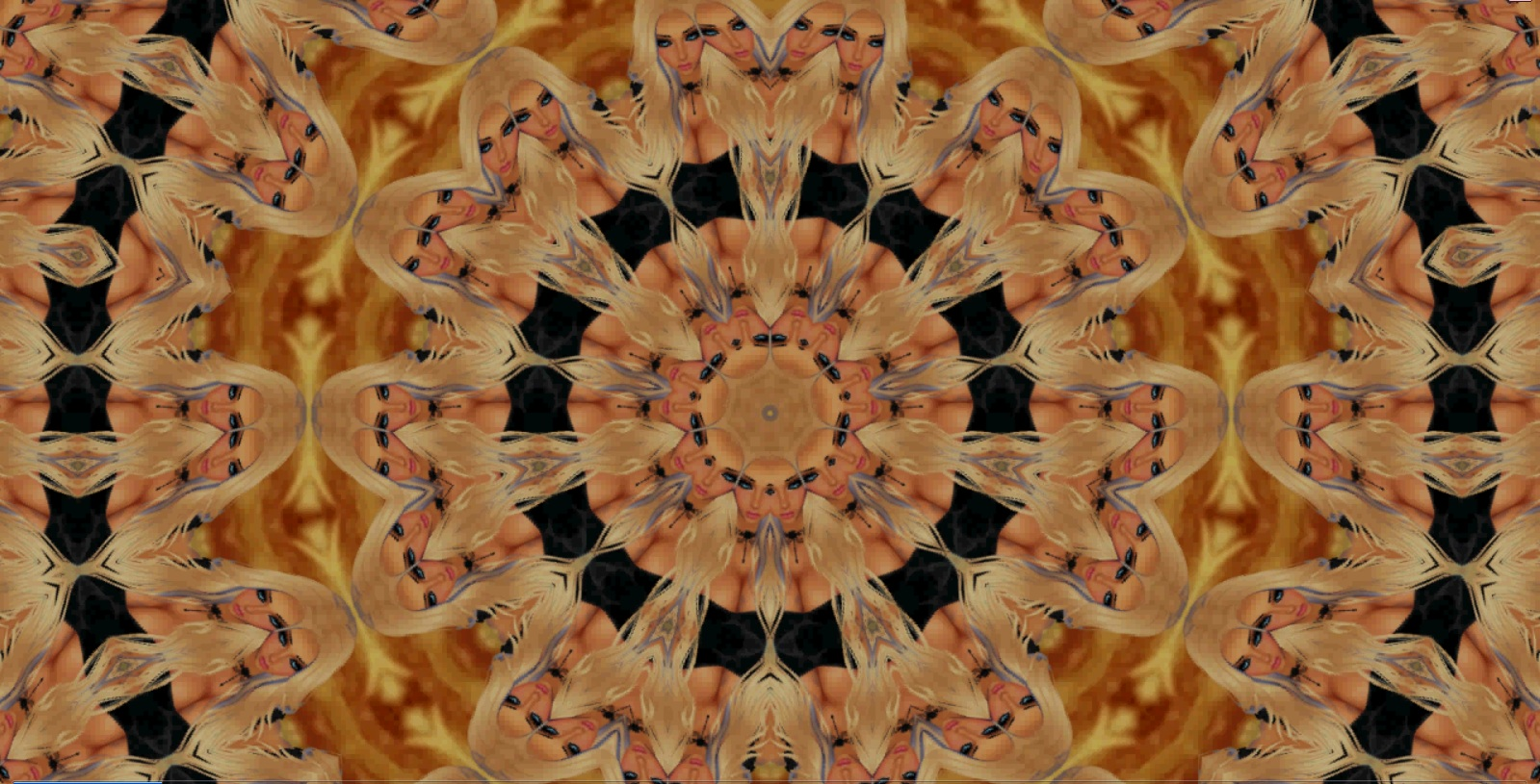 Kaleidocopic Faces